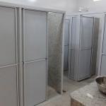 Banheiros dos dormitórios